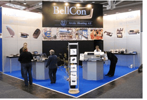 BellCon stand at Cebit